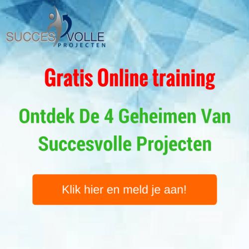 Succesvolle projecten Gratis Online training
