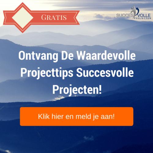 Projecttips Succesvolle projecten